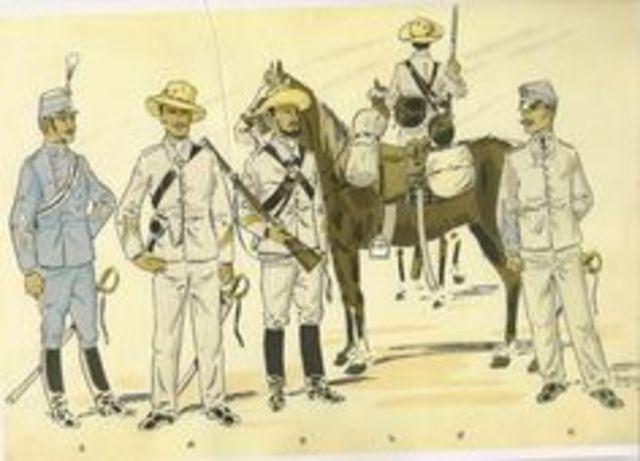 27/Septiembre/1879 Se crea la Gendarmería a pie