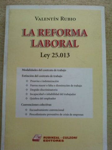 La ley 25013