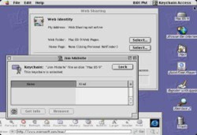 1999: Mac OS 9