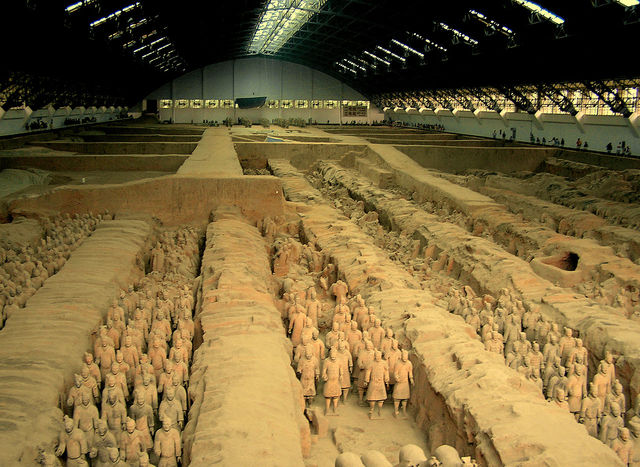 Qin Shi Huang Begins Building His Own Tomb