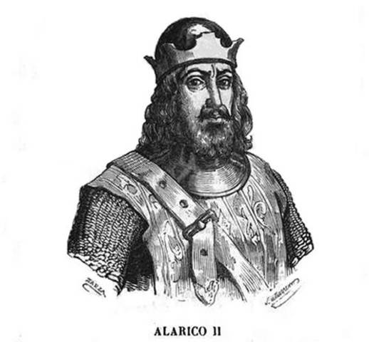 Derrota de Vouillé y asentamiento visigodo definitivo en Hispania