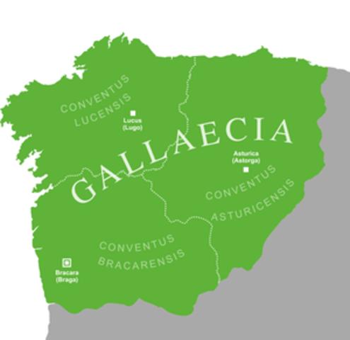 Llegada de los visigodos al este de Hispania