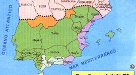 De los reinos cristianos a la baja Edad Media timeline