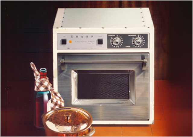 The history of microwave ovens timeline timetoast timelines for 50cm deep kitchen units