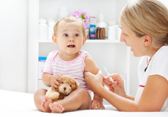 Vacuna contra sarampión