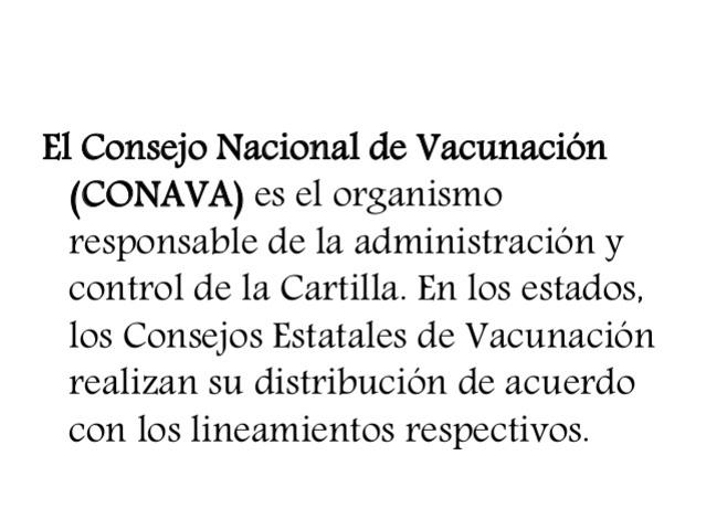 Se origina del Programa de Vacunación Universal