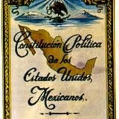 Constituciones de México. Línea del Tiempo timeline