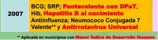 Vacunación universal contra rotavirus
