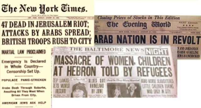 History Of The Israeli- Palestinian Conflict timeline ...