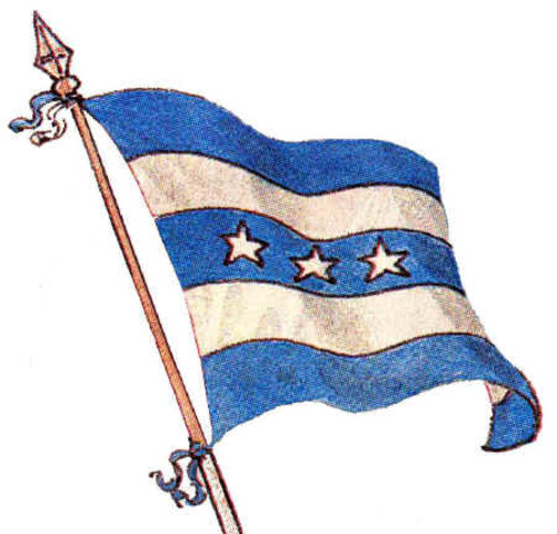 Bandera del 9 de Octubre de 1820
