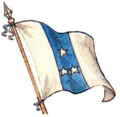 Bandera del 6 de Marzo de 1845