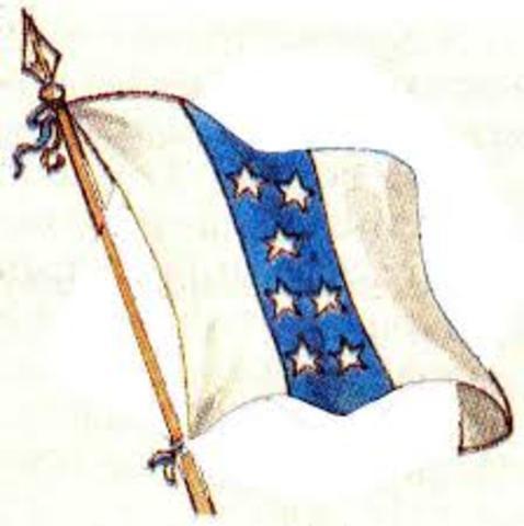 Bandera del 6 de Noviembre de 1845