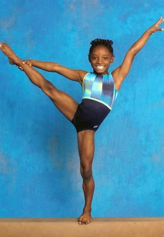 Simone Began Gymnastics
