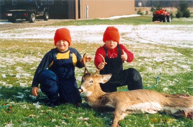 My first hunting season