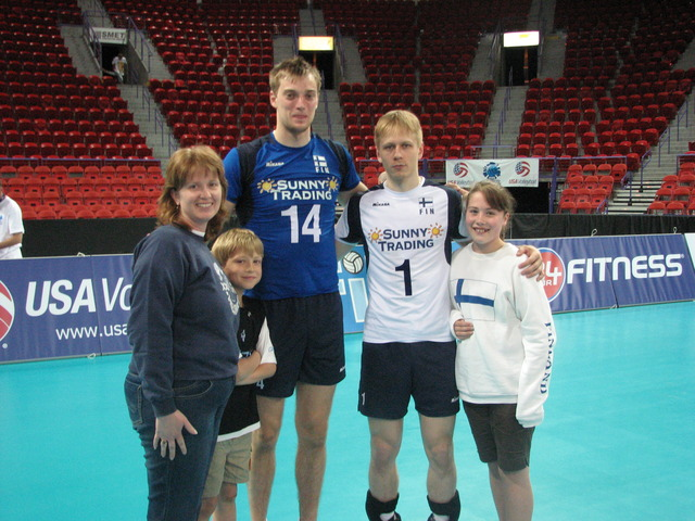 My First Professional Volleyball Game