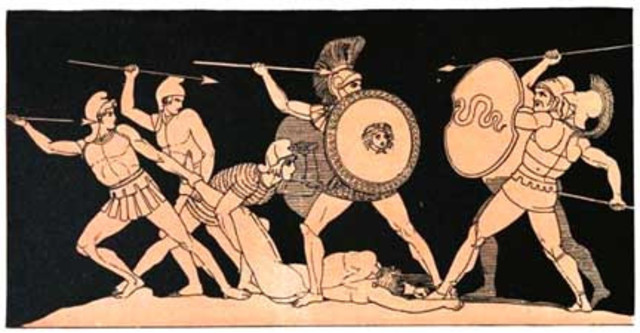 a paper on homers fighters patroklos and hektor The iliad by homer home / literature /  write essay  infographics   and hektor with his dying breath, patroklos preserves his sense of pride, telling hektor .