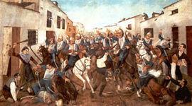 La guerra de la independencia y los comienzos de la revolución liberal. La constitución de 1812. timeline