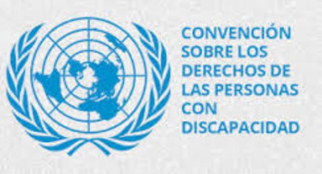 En 2006. «Convención sobre los derechos de las personas con discapacidad»