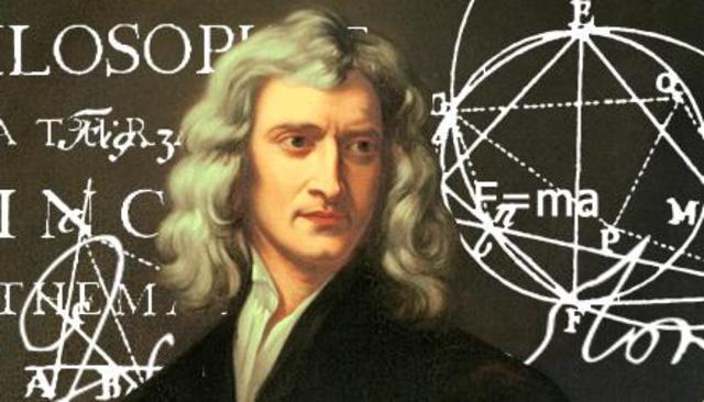 Nacimiento de Isaac Newton (Lincolnshire, Inglaterra)