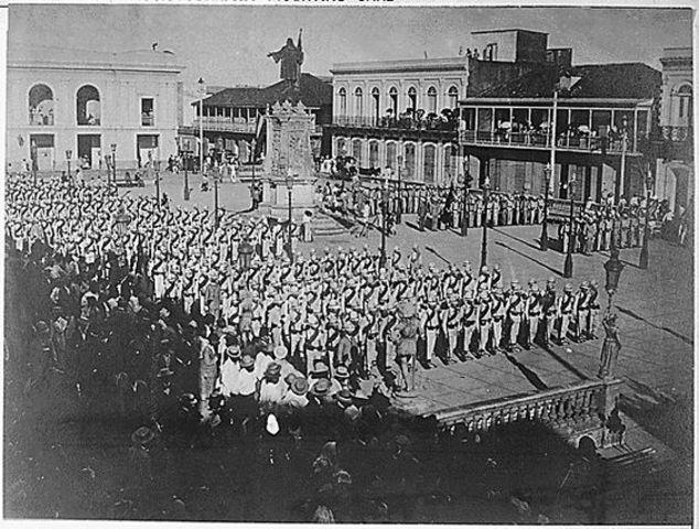 Estados Unidos marcha a Cayey y Arecibo