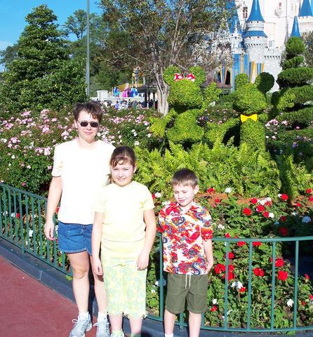 We go to Disney World