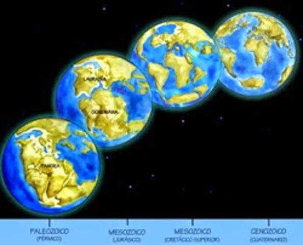 evolución de la tierra