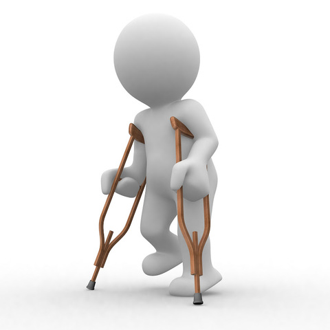 history of crutches