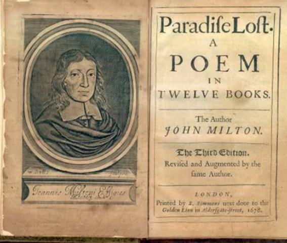 an analysis of the epic poem paradise lost by john milton Paradise lost: theme analysis,  (man's disobedience) and the overall theme of his epic poem  milton john paradise lost.