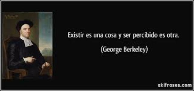 GEORGE BERKELEY, IDEALISTA