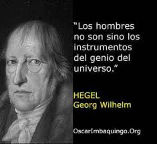 HEGEL, IDEALISTA.