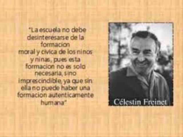 CELESTIN FREINET, REALISTA.