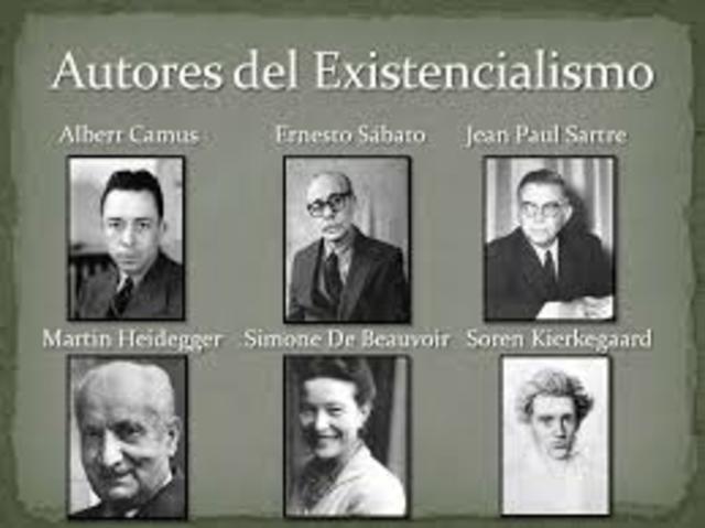 EXISTENCIALISMO Movimiento filosófico cuyo postulado fundamental es que son los seres humanos, en forma individual, los que crean el significado y la esencia de sus vidas.