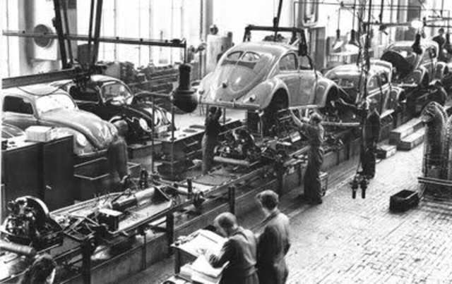Ford Car Manufacturing Line