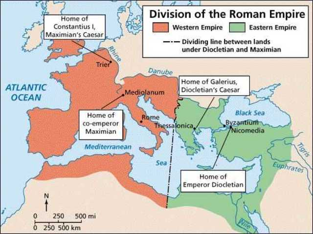 Roman empire dates