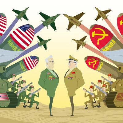 Guerra Fría - Historia de la Relaciones Internacionales - Andrea Jaime  timeline