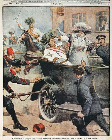 1914 Assassination of Archduke Franz Ferdinand