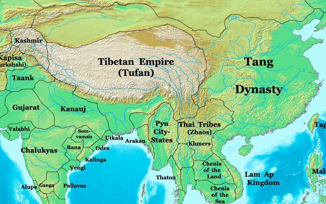Ap world history 600 ce 1450 ce timeline timetoast timelines map of the empires largest extent sciox Image collections