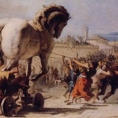 The Trojan War by Chelsea Delao timeline