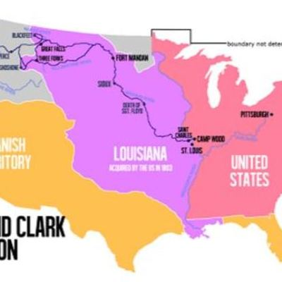 Lewis and Clark Anchor MH timeline
