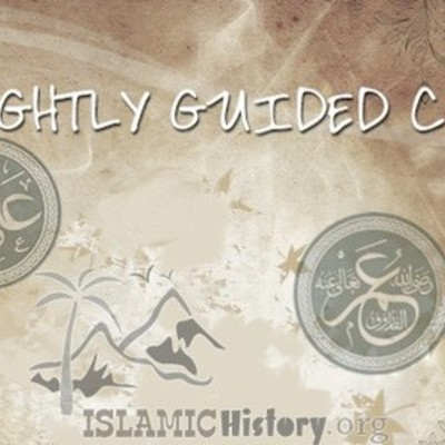 The 4 rightly guided Caliphs timeline