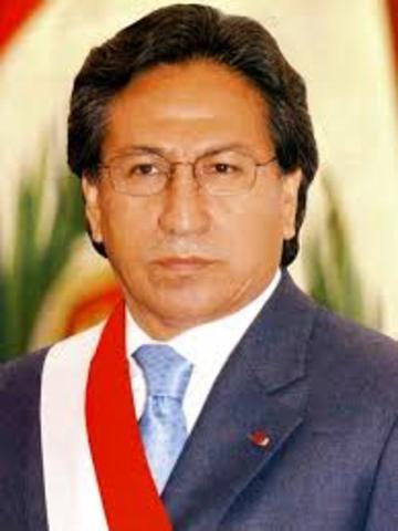 Alejandro Toledo 2001-2006
