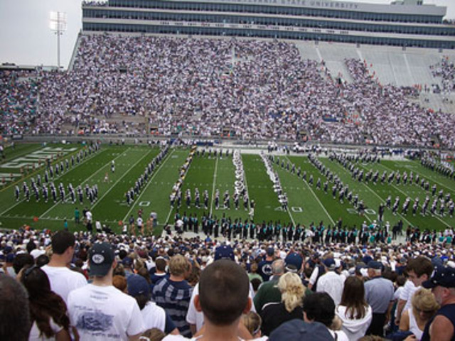 Take E to a PSU football game