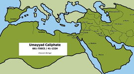 Umayyad dynasty and Abbasid Dynasty and Muslim in Spain timeline