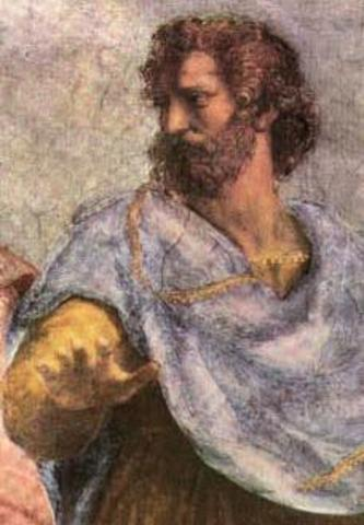 Aristotle- (384- 322 B.C.E) Most research done during the 300s. B.C