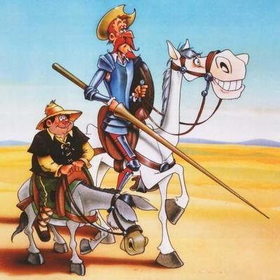 Cronograma Don Quijote de la Mancha timeline