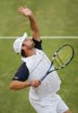 Fastest tennis serve  by Andy Roddick, USA.155