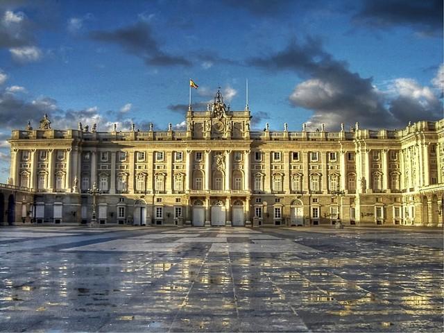 Construcción del Palacio Real de Madrid