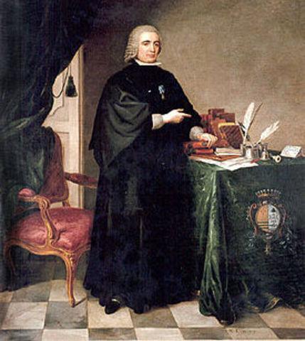 Nacimiento Pedro Rodriguez de Campomanes