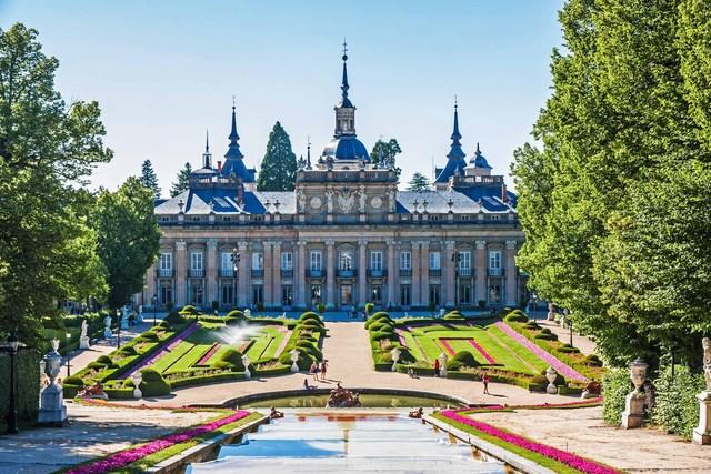 Construcción del Palacio Real de La Granja de San Ildefonso