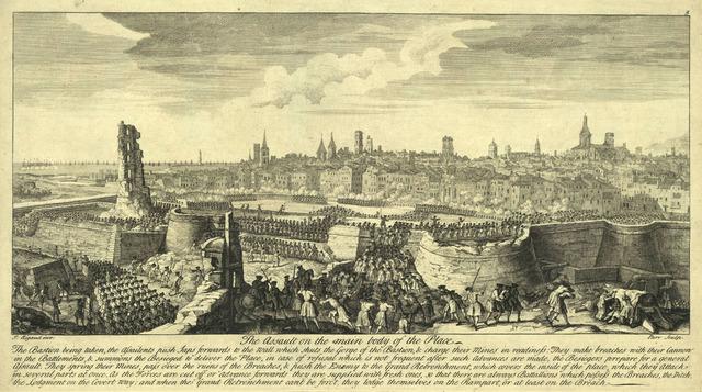 Sitio y Capitulación de Barcelona